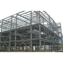 Edifício de oficina de estrutura de aço leve pré-fabricado