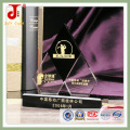 Troféu de Cristal de Gravura de Loja de Fábrica