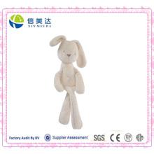 Дети спящего партнера Cuddly Мягкие белые кролика плюшевые игрушки