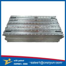 Andamio de acero galvanizado en caliente de la construcción de acero de la INMERSIÓN