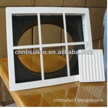 plastic air filter grille