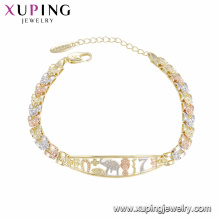 75468 xuping nouvelle arrivée de haute qualité en gros bracelet de mode pour les femmes