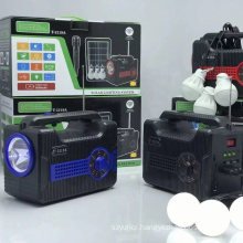 T-5219A  Support USB TF CARD FM RADIO Portable Blue Tooth Wireless Speaker With Solar With Light