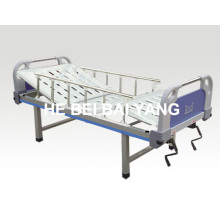 a-100 Double-Function Manual Hospital Bed