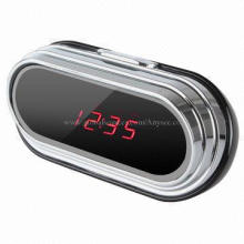 HD 1,080P Clock with Hidden Spy Surveillance Camera, DVR, Supports Motion Detect
