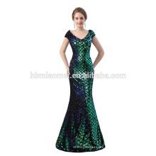 2018 vestido de noche señoras nueva llegada sirena vestido de noche largo al por mayor