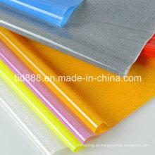 PVC rígida hoja reflexiva como película de la decoración
