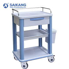 SKR016-CT Durable Medical ABS Emergency Therapy Trolley With Casters