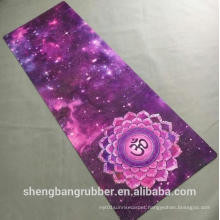 professional full 4c digital custom printed yoga mat