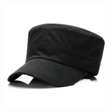 Army Hat Cap Plain Flat Top Military Hat