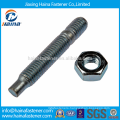 Stock DIN835 Stud Bolt M8 Zinc Plated Double End Studs