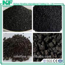 Alto contenido de carbono 98,5% bajo contenido de azufre 0,05% Grafito de Coque de petróleo precio