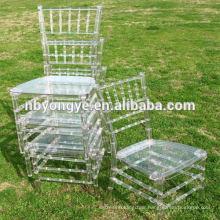 Clear Plexi wedding Chiavari Chair