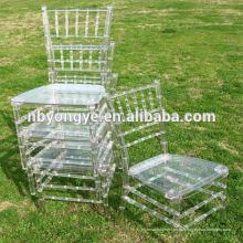 Прозрачный Plexi свадебный стул Chiavari
