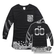 Paisley-Bandana-Brief-Druck-Hemden