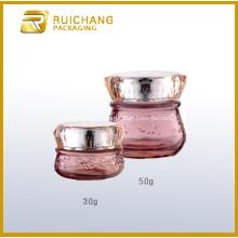 Bocaux en verre cosmétiques