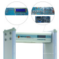 LCD-Display-Bank verwenden Spaziergang durch Metalldetektor mit Passwort-Funktion