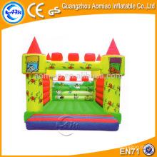 Bouncer colorido del puente del bebé del diseño, material inflable del castillo del PVC de 0.55mm