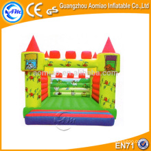 Colorful design baby jumper bouncer, 0.55mm PVC bouncy castle material