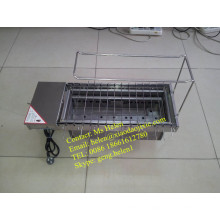 Portable Automatic Charcoal or Gas BBQ Machine