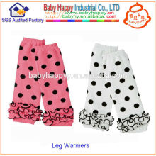 2014 nuevos calentadores encantadores de la pierna del bebé de la nueva manera