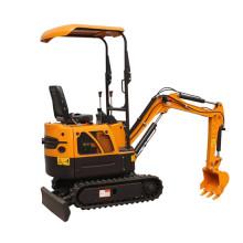 Mini escavadeira hidráulica de máquinas agrícolas