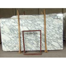 A Grade Arabescato White Marble Slabs
