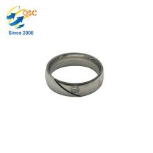 En gros pas cher bijoux en acier inoxydable anneau fabriqué en Chine