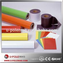 Nuevo rollo magnético permanente isotrópico flexible de PVC