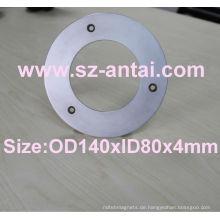 High-Eigenschaft Neodym Ringmagnet, großer Ring Magnete/Super Scheibenmagnete
