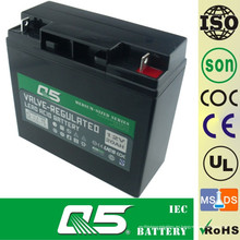 12V18AH Batería solar GEL Batería Productos estándar; Pequeño generador solar