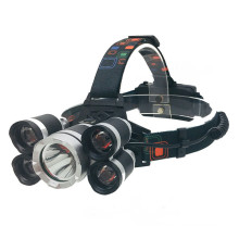 18650 USB Rechargeable Headlight IPX5 Waterproof
