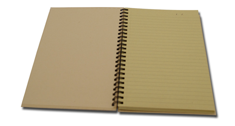 Hot Kraft Cover Low Cost Student Notebook
