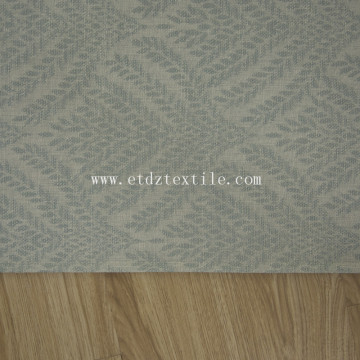 polyester linen design fabric curtain 6023