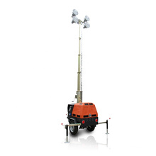 7m Vehicle-Mounted  metal halide lamp inflatable light tower lighting