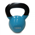 10KG Blue Vinyl Coated Kettlebell