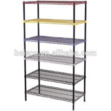 Price for Colorful Chrome Wire Shelving Steel Wire Shelf Rack