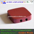Amplificador de batería recargable del amplificador del auricular del amplificador del auricular de 3.5mm