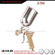 Pistola de alta pressão de venda quente com borracha handel E-70G
