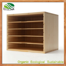 Natural Bamboo File Storage Cabinet / Document Cabinet