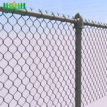 Diamond lattice fence topper
