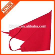 Algodão barato bandana personalizada triângulo