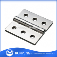 Piezas de hardware para muebles Bisagras para muebles de aleación de zinc