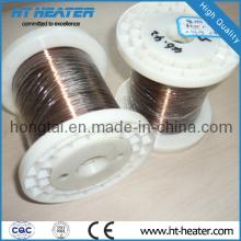 Alambre eléctrico de la resistencia del níquel del cobre desnudo eléctrico 6j12