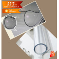 Filme pvc claro para impressão feito na China para cortina de chuveiro de pano de mesa