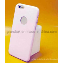 1mm Ultradünne Leder Rückseitige Abdeckung für iPhone 6