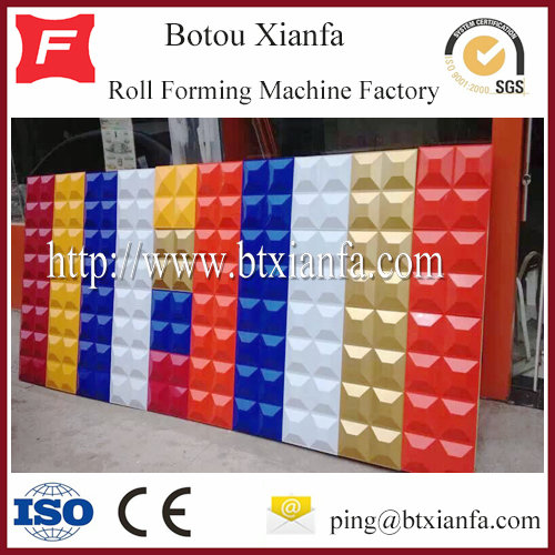 Color Steel Sheet 3D Gusset Plate Roll Forming Machine