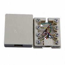 Rj11/Rj12/RJ45 Telephone Socket of St-6p4c-TBB8