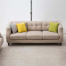 Kombination 123 Hölzerner Stoff Sofa Set Design