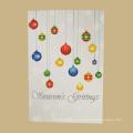 Новое Прибытие Новейший Дизайн Пользовательские Подарочные Карты Для Новогоднего Украшения